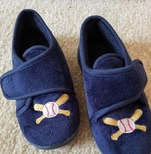 Other - Toddler Boys Navy Indoor Slippers